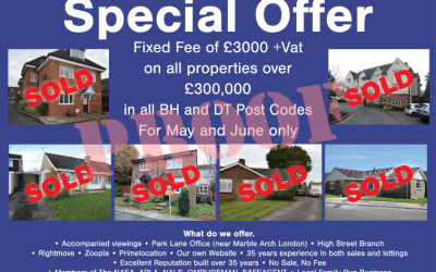 The £3000+VAT offer is back for May and June 2017